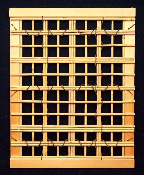 Unique Bamboo Window Design 6
