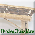 Benches, Chairs, Mats
